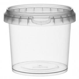 Embalagem Plastico Com Tampa Inviolável 365ml Ø9,5 (24 Uds)
