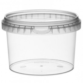 Embalagem Plastico Redondo inviolável 565ml Ø11,8 (264 Uds)