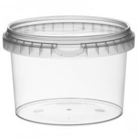 Embalagem Plastico Com Tampa Inviolável 565ml Ø11,8 (22 Uds)