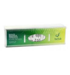 Palitos de Madeira Redondo Torneado Embainhados 65mm (5 Uds)