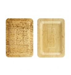 Bandeja de Bambu 20x14x1cm (10 Uds)