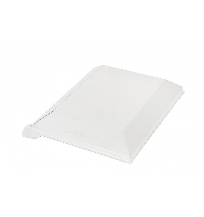 Tampa Plastico PET Transparente 21,5x8,5cm (25 Uds)