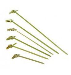 Pick Bambu Decorado Laço 180mm (200 Unidades)