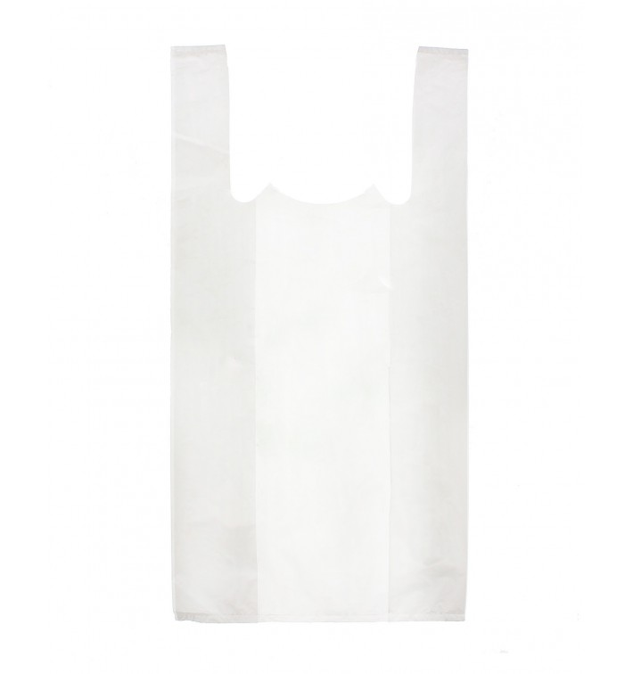 Saco Plastico Alça Branco 25x30cm (8000 Unidades)
