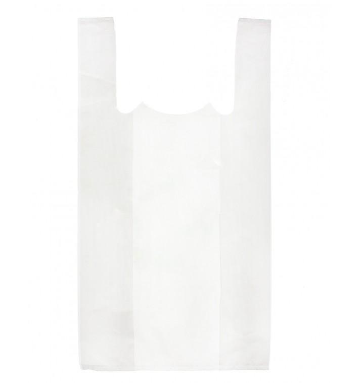 Saco Plastico Alça Branco 35x40cm (200 Unidades)