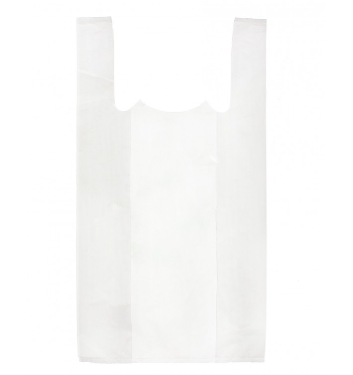 Saco Plastico Alça Branco 40x60cm (200 Unidades)