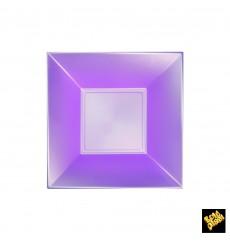Prato Plastico Fundo Violeta Nice Pearl PP 180mm (300 Uds)