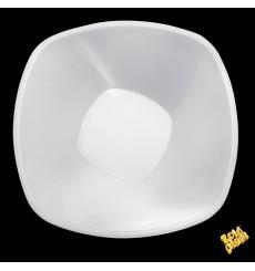 """Tigela Plastico PP """"Square"""" Branco 3000ml Ø27,7cm (30 Uds)"""