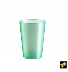 Copo Plastico Moon Cristal Tiffany Pearl PS 230ml (50 Uds)