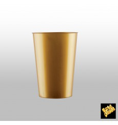 Copo Plastico Cristal Violeta Pearl PS 200ml (50 Uds)