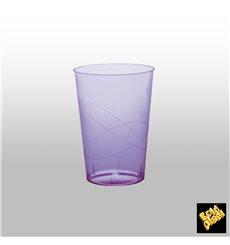 Copo Plastico Moon Cristal Lilás Transp. PS 230ml (50 Uds)