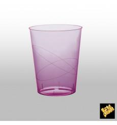 Copo Plastico Moon Cristal Lilás Transp. PS 350ml (400 Uds)