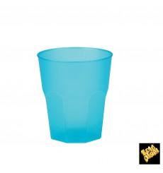 "Copo Plastico ""Frost""  Turquesa PP 270ml (420 Uds)"