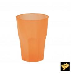 "Copo Plastico ""Frost"" Laranja PP 350ml (20 Uds)"