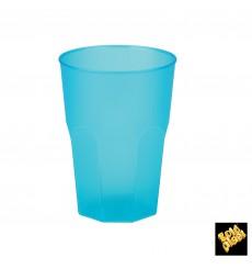 "Copo Plastico ""Frost""  Turquesa PP 350ml (420 Uds)"