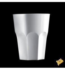 Copo Reutilizáveis SAN Rox Branco 300ml (120 Uds)