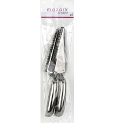 Colher de Plastico Metalizado 30 cm (50 Uds)