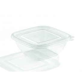 Tigela de Plastico PET 750ml 190x190x40mm (50 Uds)