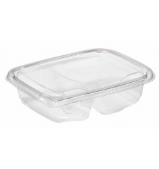 Tigela de Plastico Saladeira 180x140x40mm PET 600ml (65 Uds)