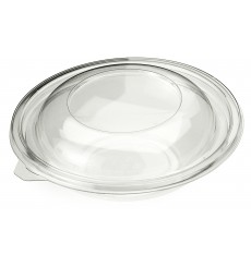 Tampa de Plastico para Saladeira PET Ø140mm (50 Uds)