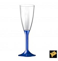 Copo PS Flute Champanhe Azul Perlé 120ml 2P (20 Uds)