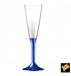 Copo PS Flute Champanhe Azul Perlé 160ml 2P (20 Uds)