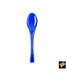 Colher de Plástico Fly Azul Transp. 145mm (50 Uds)