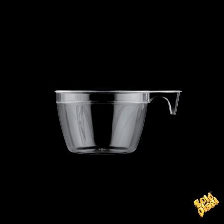 Chavena Plastico Design Transparente 190ml (900 Uds)