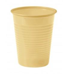 Copo de Plastico Creme PS 200 ml (50 Unidades)