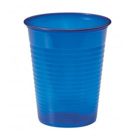 Copo de Plastico PS Azul Escuro 200ml Ø7cm (1500 Unidades)