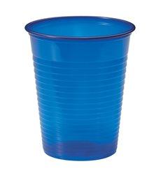 Copo de Plastico Azul Escuro PS 200 ml (50 Unidades)