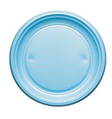 Prato Plastico Raso Azul Escuro PS 170mm (1100 Unidades)