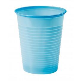 Copo de Plastico PS Azul Claro 200ml Ø7cm (1500 Unidades)