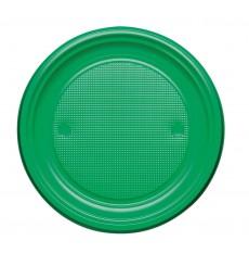 Prato Plastico Raso Amarelo PS 170mm (50 Unidades)