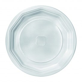 """Prato Plastico PP Raso Branco """"Deka"""" 220 mm (400 Unidades)"""