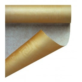 Toalha Papel Rolo Mesa Ouro 1,2x7m (25 Uds)