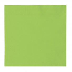 Guardanapos Papel 2 Folhas Verde lima 33x33cm (1200 Uds)