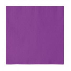 Guardanapos Papel 2 Folhas Violeta 33x33cm (50 Uds)