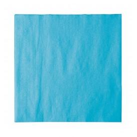 Guardanapos Papel 2 Folhas Azul 33x33cm (1200 Uds)