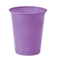 Copo de Plastico Lilás PS 200 ml (50 Unidades)