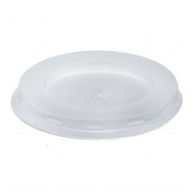 Tampa Plastico PS Branco para Copo 200/250ml Ø7,2cm (100 Unidades)