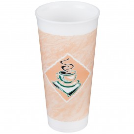 "Copo Termico Foam EPS ""Café"" 24Oz/710 ml Ø9,4cm (500 Unidades)"