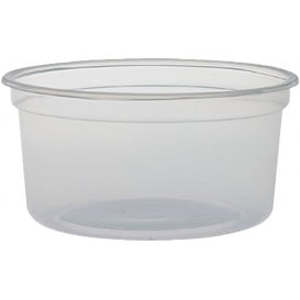 "Embalagem Termico Foam PP ""Deli"" Translúcido 12Oz/355ml (25 Unidades)"