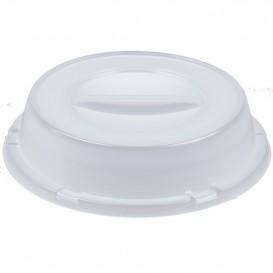 Cobertura Alta Plástico PS Translúcido Ø230mm (500 Unidades)