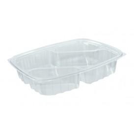 "Embalagem Plastico OPS ""ClearPac"" 3 C. Diagonal Transp. 887ml (63 Uds)"