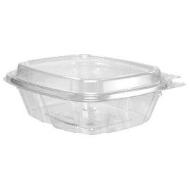 Embalagem Inviolável de Plastico PET Tampa Alta 240ml (200 Uds)