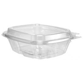 Embalagem Inviolável de Plastico PET Tampa Alta 240ml (100 Uds)