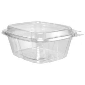Embalagem Inviolável de Plastico PET Tampa Alta 475ml (100 Uds)
