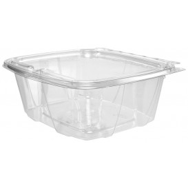 Embalagem Inviolável de Plastico PET Tampa Plana 950ml (100 Uds)