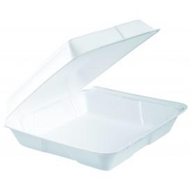 Embalagem Foam MenuBox Divisível Branco 240x235mm (100 Uds)
